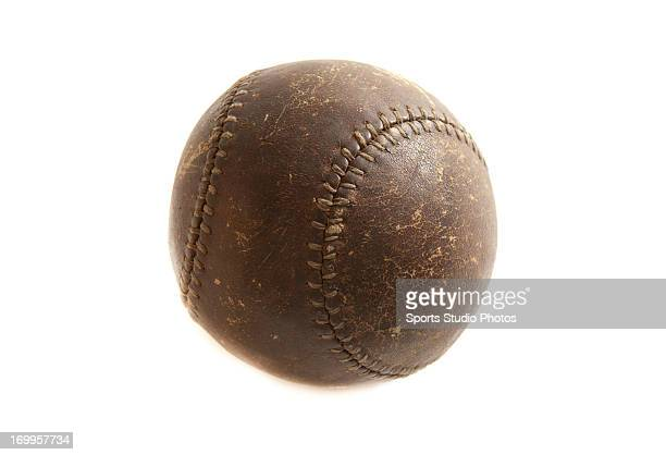 1920's Vintage Baseball Early stitched leather baseball
