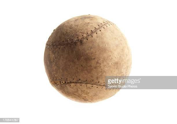1900's Vintage baseball early stitched leather baseball