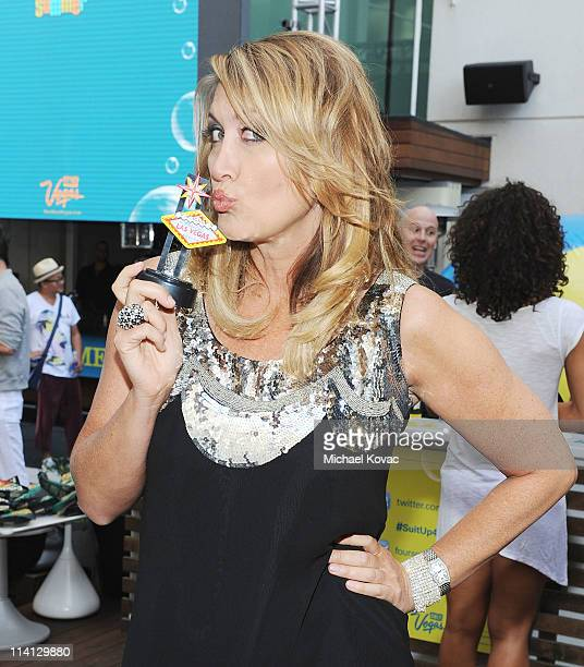 KTLA's Wendy Burch emcees Las Vegas 'Suit Up For Summer' at W Hollywood on May 12 2011 in Hollywood California
