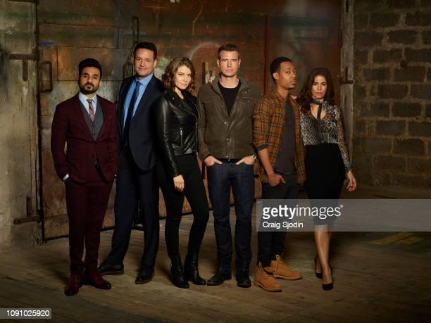 CAVALIER ABC's 'Whiskey Cavalier' stars Vir Das as Jai Datta Josh Hopkins as Ray Prince Lauren Cohan as Frankie Trowbridge Scott Foley as Will Chase...