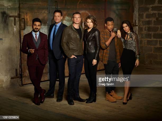 CAVALIER ABC's 'Whiskey Cavalier' stars Vir Das as Jai Datta Josh Hopkins as Ray Prince Scott Foley as Will Chase Lauren Cohan as Frankie Trowbridge...