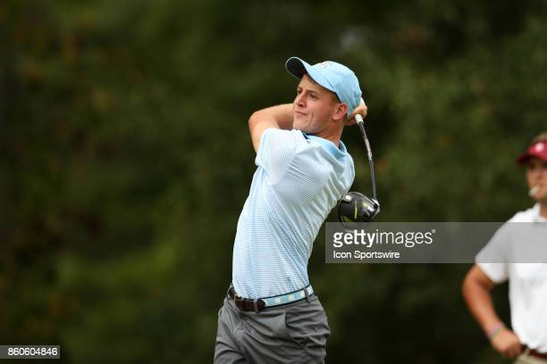 UNC's William Register on the 7th tee The second round of the Tar Heel Intercollegiate Men's Golf Tournament was held on October 7 at the UNC Finley...