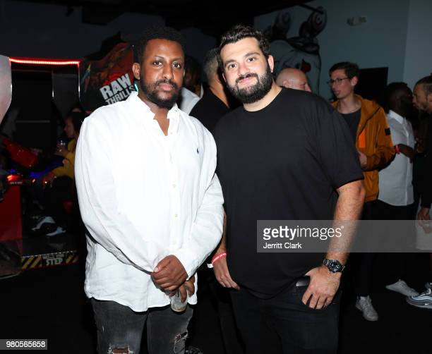 CAA's Zach Iser attend CAA's BET Awards Week KickOff Party in Partnership with Heineken at World of Wheels on June 20 2018 in Los Angeles California