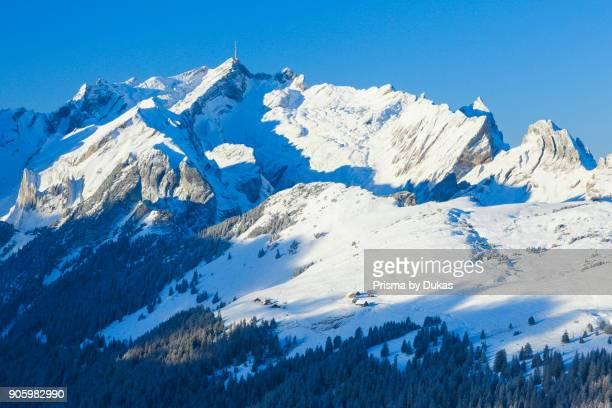 S_ntis massif view from the Hohen Kasten Switzerland