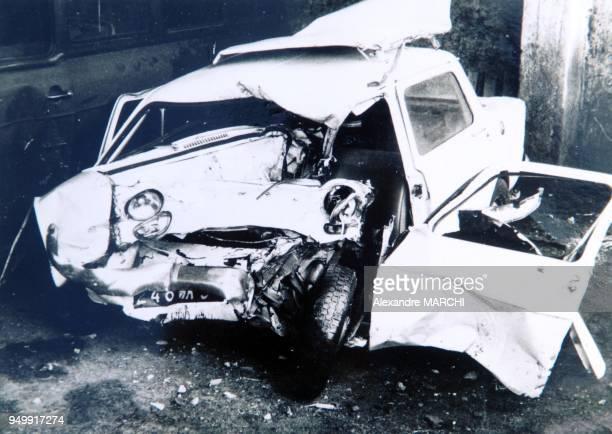 Sa voiture apres un accident dans les annees 80
