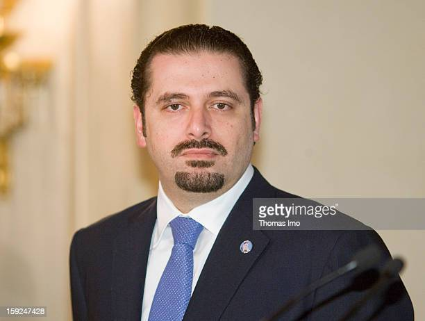 Saad Hariri Prime Ministerdesignate of Lebanon July 7 2009 in Beirut Lebanon