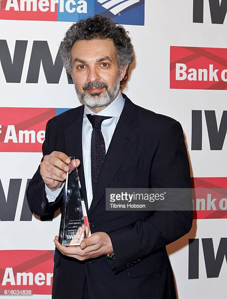 Saad Mohseni attends the International Women's Media Foundation 27th annual Courage In Journalism Awards at the Beverly Wilshire Four Seasons Hotel...
