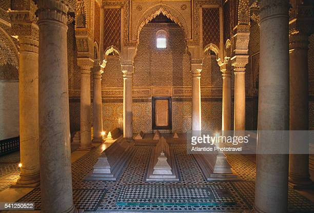 saadian tombs - tomb stock pictures, royalty-free photos & images