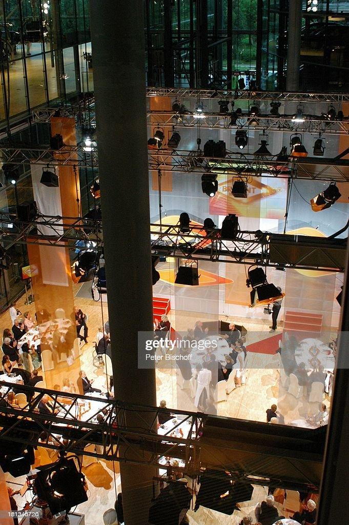 Saal mit Gästen v.oben, ARD/MDR Verleihung Medienpreis 'Brisant : News Photo