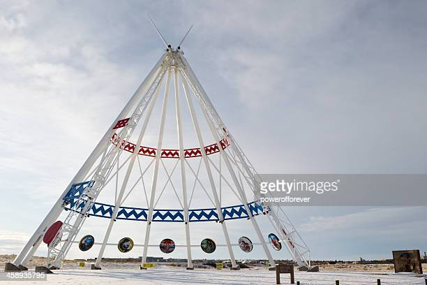 Saamis Tipi-Medicine Hat, Alberta