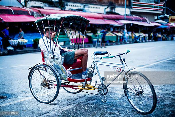 Saamlor Rider Resting