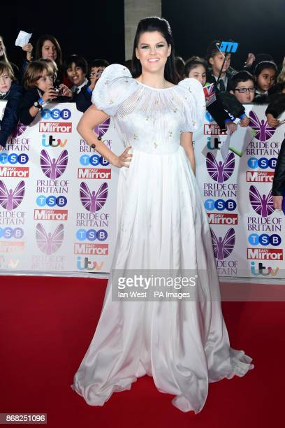 Saara Aalto attending The Pride of Britain Awards 2017 at Grosvenor House Park Street London Picture Date Monday 30 October Photo credit should read...