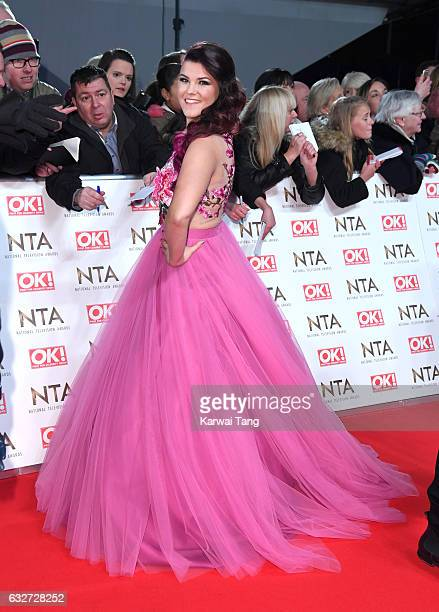 Saara Aalto attends the National Television Awards at The O2 Arena on January 25 2017 in London England