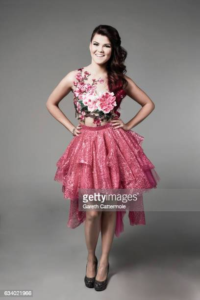 Saara Aalto attends the National Television Awards Portrait Studio at The O2 Arena on January 25 2017 in London England