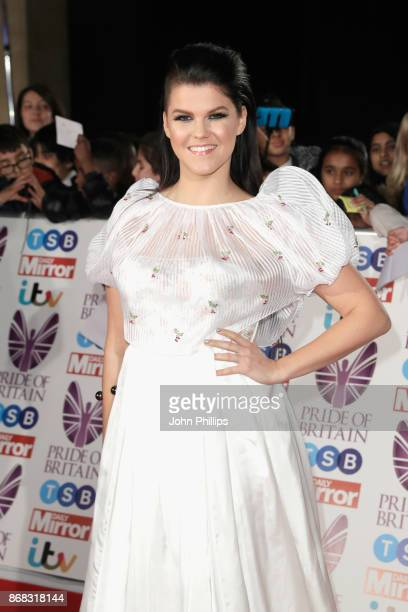 Saara Aalto attends the Pride Of Britain Awards at Grosvenor House on October 30 2017 in London England