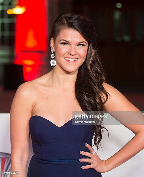 Saara Aalto attends The Sun Military Awards at The Guildhall on December 14 2016 in London England