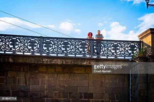 Saarbrucken bridge, Tbilisi, Georgia