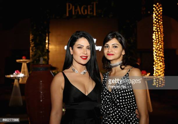 Saba Mubarak and Ahd Kamel attend Piaget celebrates Abdullah Al Kaabi's talent by hosting a private screening of his short film 'More Than Love' at...