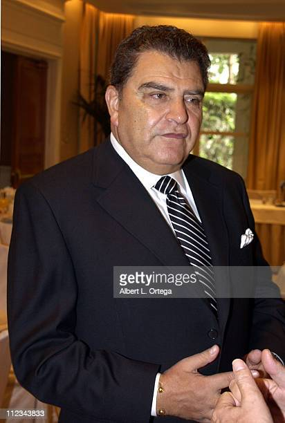 """""""Sabado Gigante"""" host Don Francisco holds a breakfast reception and book signing for his new autobiography, """"Don Francisco: An Autobiography-Life,..."""