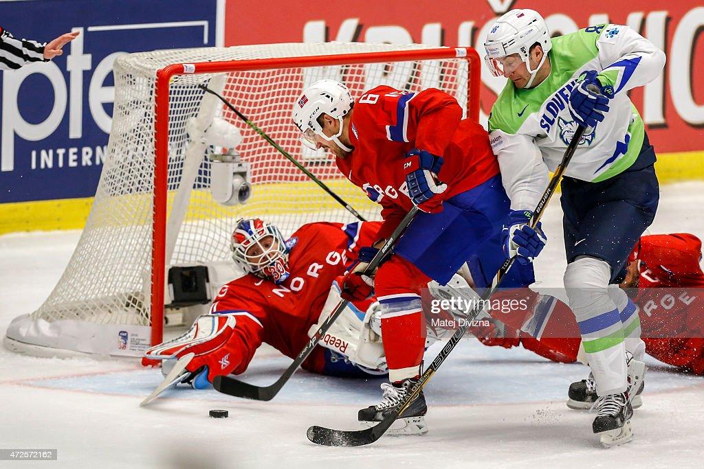 Slovenia v Norway - 2015 IIHF Ice Hockey World Championship