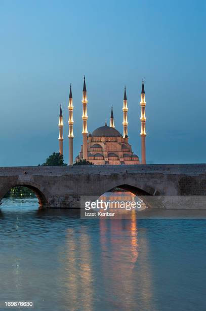 Sabanci Central Mosque and Stone Bridge