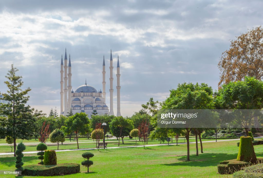 Sabanci Central Mosque In Adana Turkey High Res Stock Photo Getty Images