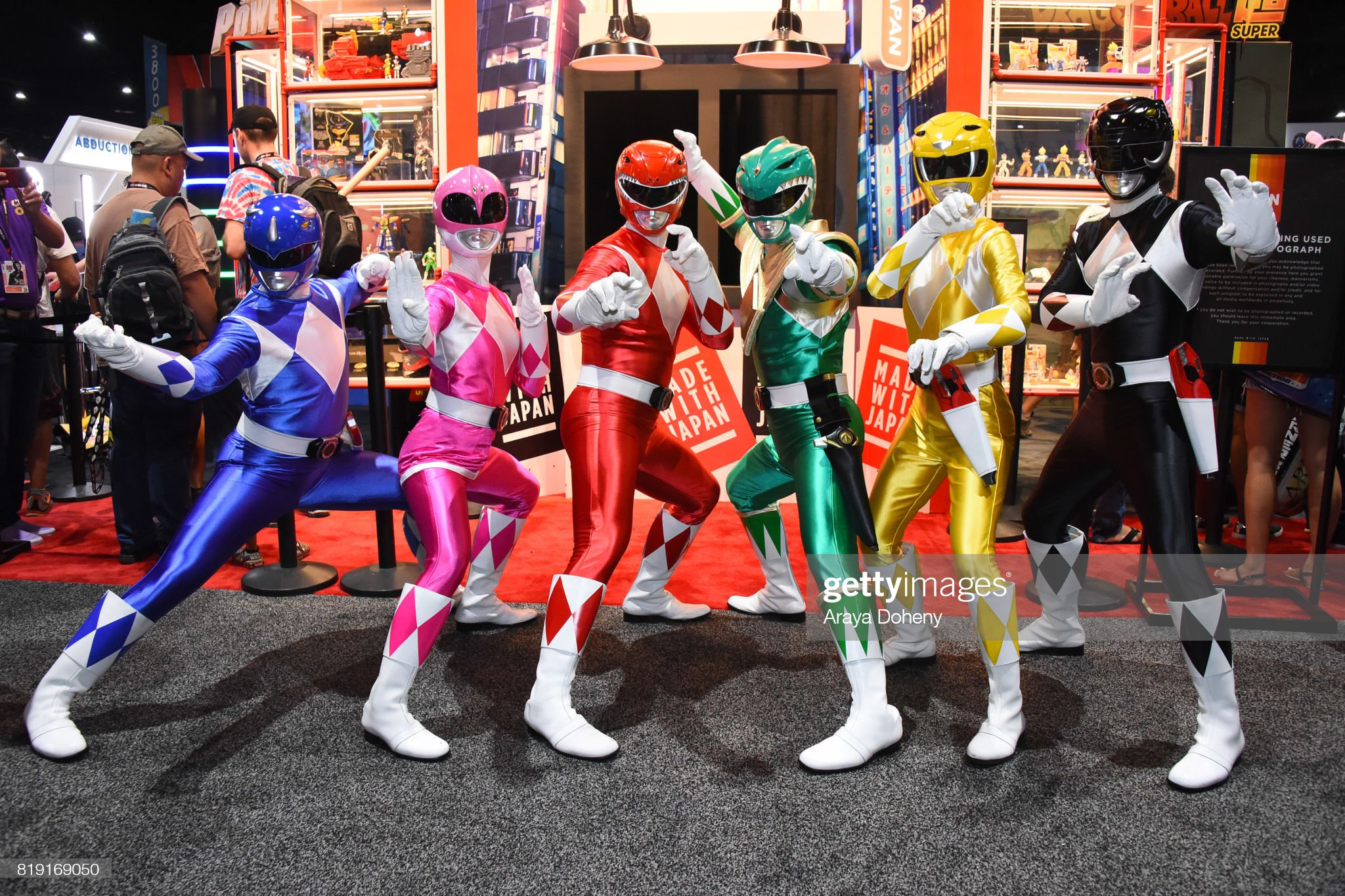 Saban's Power Rangers At San Diego Comic-Con 2017 : News Photo