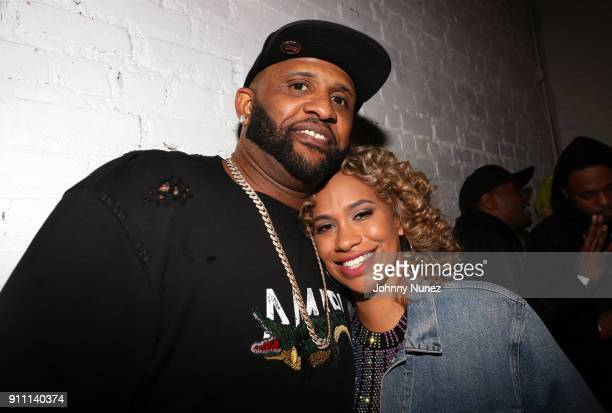 Sabathia and Amber Sabathia attend the Def Jam PreGrammy Celebration at the Garage on January 26 2018 in New York City