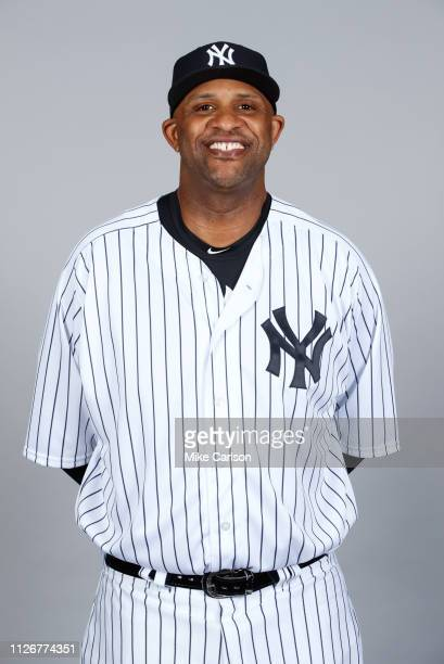 Sabathia of the New York Yankees poses during Photo Day on Thursday February 21 2019 at George M Steinbrenner Field in Tampa Florida