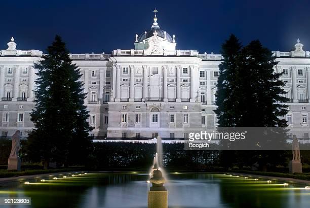 Sabatini Gardens North side of Palacio Real de Madrid, Spain