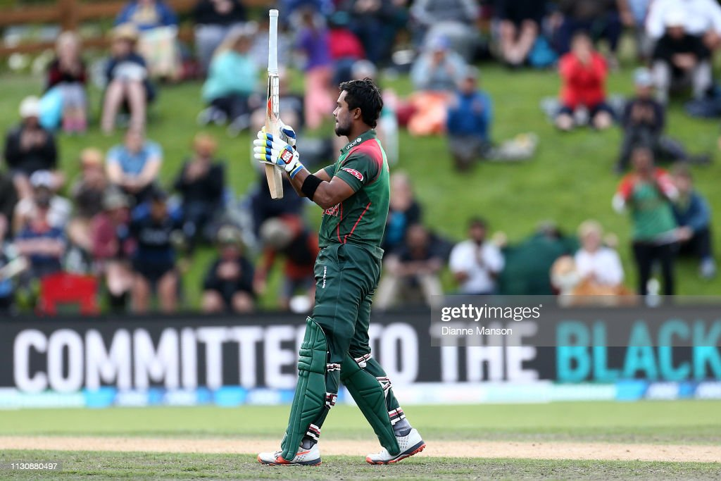 New Zealand v Bangladesh - ODI Game 3 : News Photo