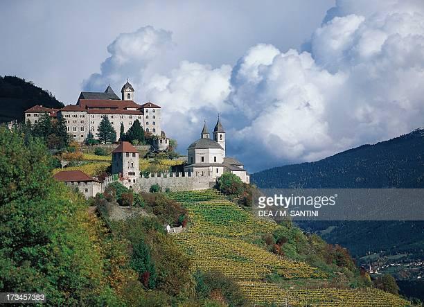 Saben Abbey, near Klausen, Trentino-Alto Adige, Italy.