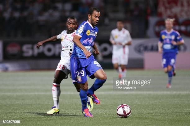 Saber KHALIFA Nancy / Evian Thonon 9e journee Ligue 1