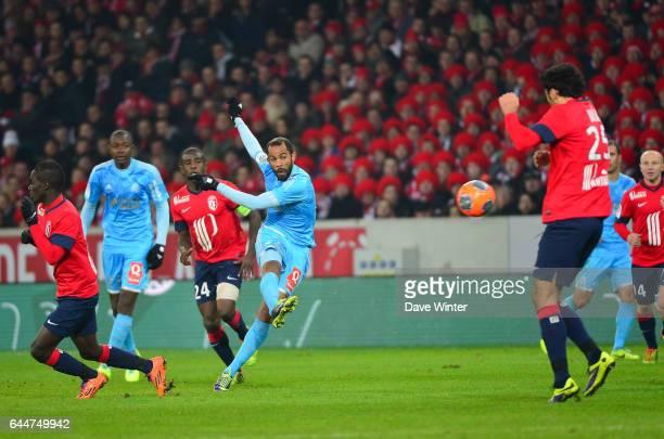 Saber KHALIFA Lille / Marseille 16e journee Ligue 1 Photo Dave Winter / Icon Sport