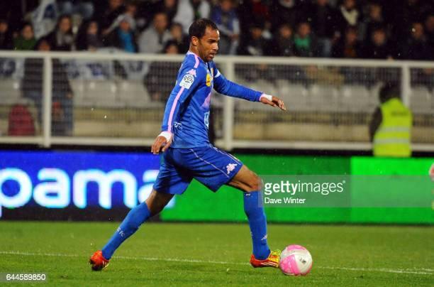 Saber KHALIFA Auxerre / Evian Thonon 28eme journee de Ligue 1 Photo Dave Winter / Icon Sport