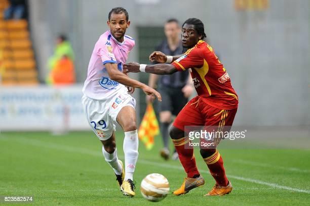 Saber KHALIFA / Serge AURIER Lens / Evian Thonon 16e finale Coupe de la Ligue