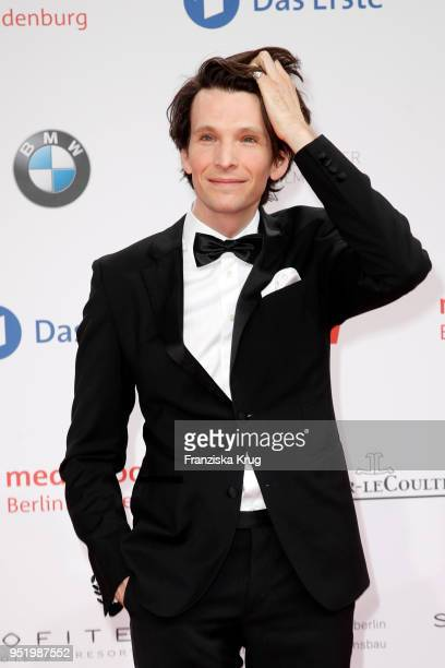 Sabin Tambrea attends the Lola German Film Award red carpet at Messe Berlin on April 27 2018 in Berlin Germany