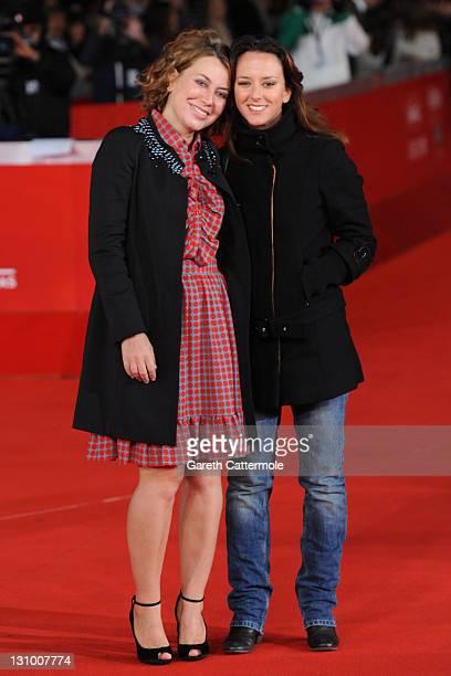 Sabina and Caterina Guzzanti attend the Franca La Prima premiere during the 6th International Rome Film Festival on October 31 2011 in Rome Italy