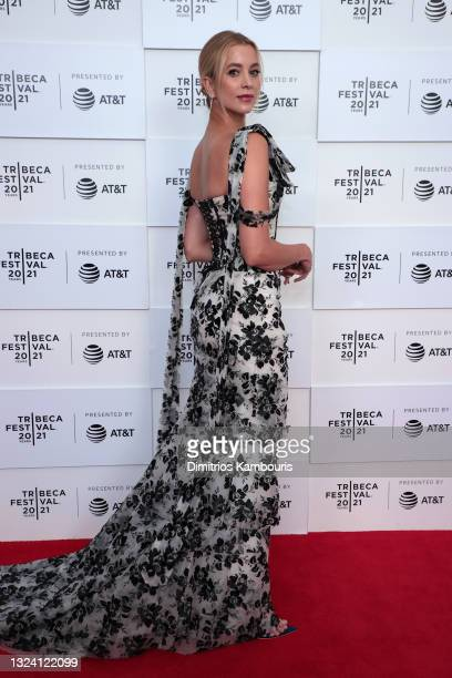 """Sabina Gadecki attends the """"False Positive"""" premiere during the 2021 Tribeca Festival at Brookfield Place on June 17, 2021 in New York City."""