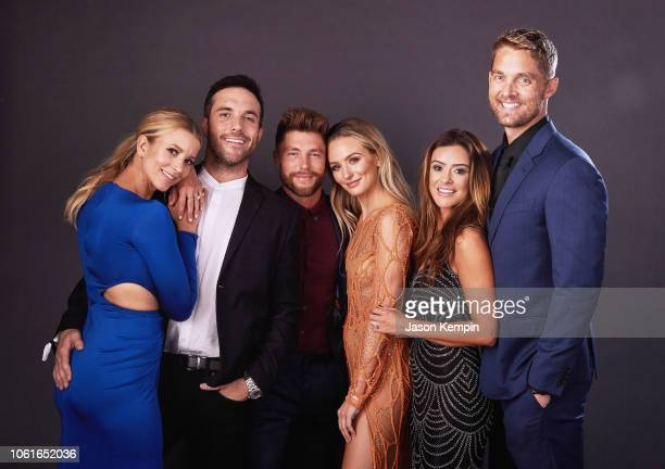 Sabina Gadecki Tyler Rich Chris Lane Lauren Bushnell Taylor Mills and Brett Young attend Big Machine Label Group Celebrates the 52nd Annual CMA...