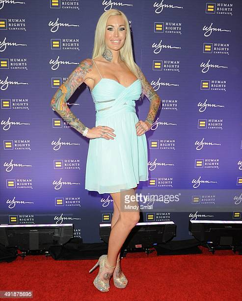 Sabina Kelley arrives at the 9th Annual Human Rights Campaign Gala at the Wynn Las Vegas on May 17, 2014 in Las Vegas, Nevada.