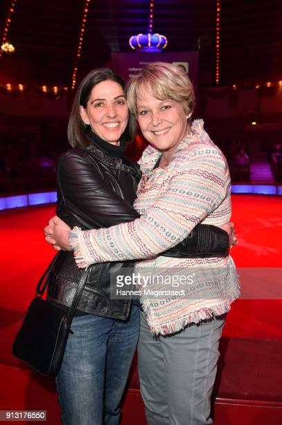 Sabine Ammon and Ramona Leiss during Circus Krone celebrates premiere of 'Hommage' at Circus Krone on February 1 2018 in Munich Germany