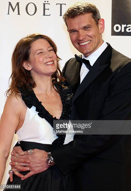 Sabine and Goetz Otto attend the 2nd Orange Filmball Vienna at the Townhall on March 18 2011 in Vienna Austria