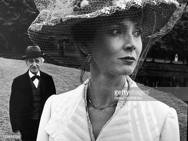 """Sabine Azema And Loius Ducreux In """"A Sunday In The Country"""" The Film By Bertrand Tavernier"""