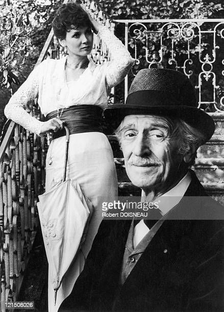 """Sabine Azema, And Louis Ducreux In """"A Sunday In The Country"""" The Film By Bertrand Tavernier"""