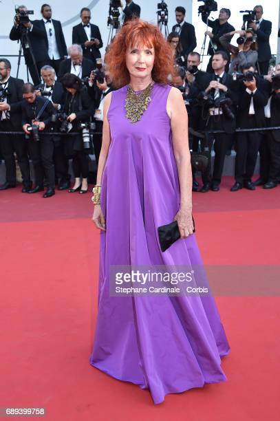 Sabine Azema attends the Closing Ceremony of the 70th annual Cannes Film Festival at Palais des Festivals on May 28, 2017 in Cannes, France.