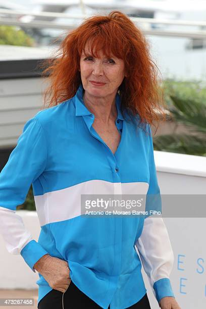 """Sabine Azema attends the """"Jury Camera D'Or"""" photocall during the 68th annual Cannes Film Festival on May 14, 2015 in Cannes, France."""