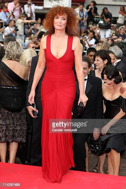 "Sabine Azema during 2007 Cannes Film Festival - ""Auf der Anderen Seite"" Premiere at Palais des Festival in Cannes, France."
