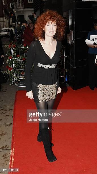 "Sabine Azema during ""La Vie En Rose"" London Premiere - Arrivals at Curzon Mayfair in London, Great Britain."
