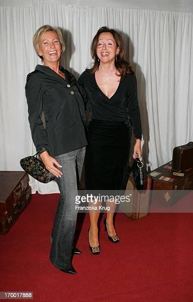Sabine Christiansen and Vicky Leandros When The Party At Bertelsmann Bertelsmann Unter Den Linden in Berlin on 280905